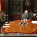 Лукашенко назначил госсекретаря Совета безопасности, министра обороны и начальника Генштаба ВС