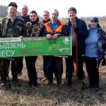 Падчас акцыі «Тыдзень лесу-2020» лясны фонд Чачэршчыны павялічыўся на 48 000 маладых елак і сасонак