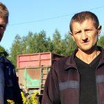 Новости с полей: на Чечерщине поздравили новых тясячников
