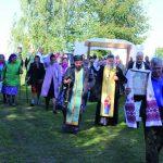 В Мотневичах состоялось освящение Марининой криницы